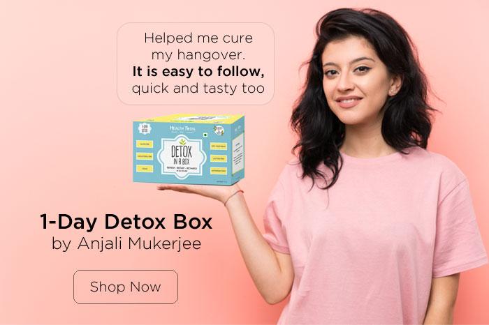 1 day deox box by Anjali Mukerjee