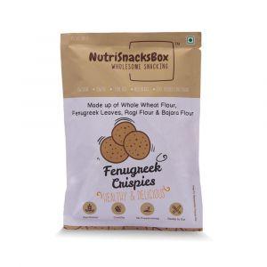 Fenugreek Crispies (100g) - NutriSnacksBox