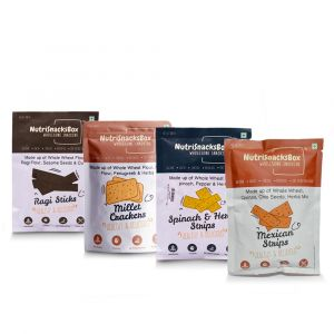 NutriSnacksBox - Healthy Snack Pack (4 items)