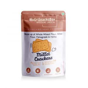 Millet Cracker (100g) - NutriSnacksBox