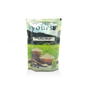 Naturally Yours – Organic Wheat Grass Powder