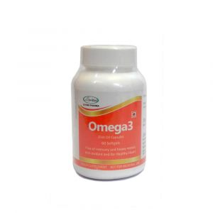 Omega 3 Fish Oil Capsules- 60 Softgel Capsules