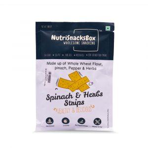 Spinach & Herb Strips(100g) - NutriSnacksBox