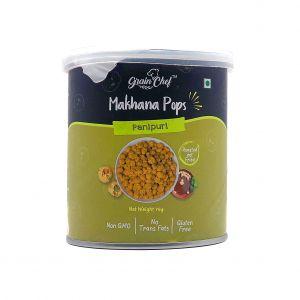 Makhana pops panipuri
