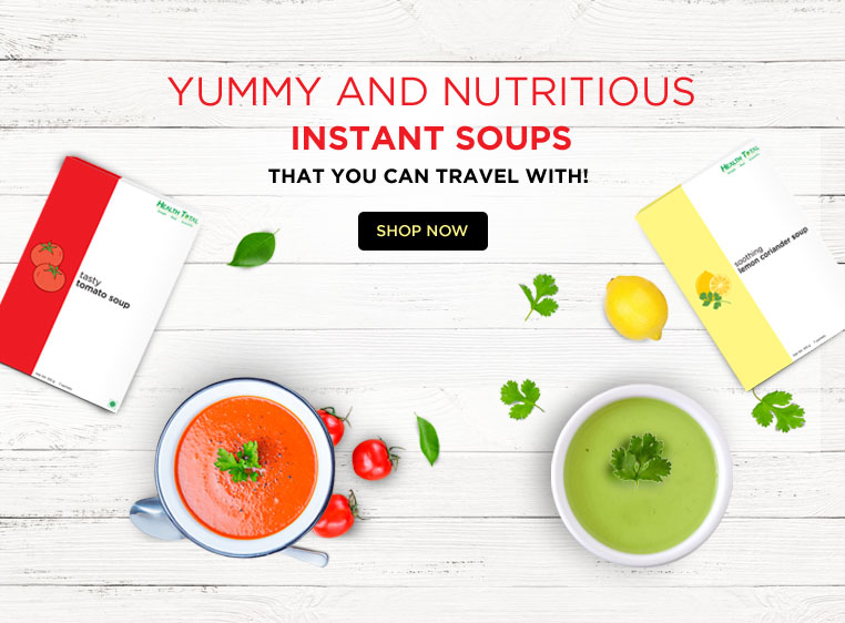 yummy & nutritious instant soups